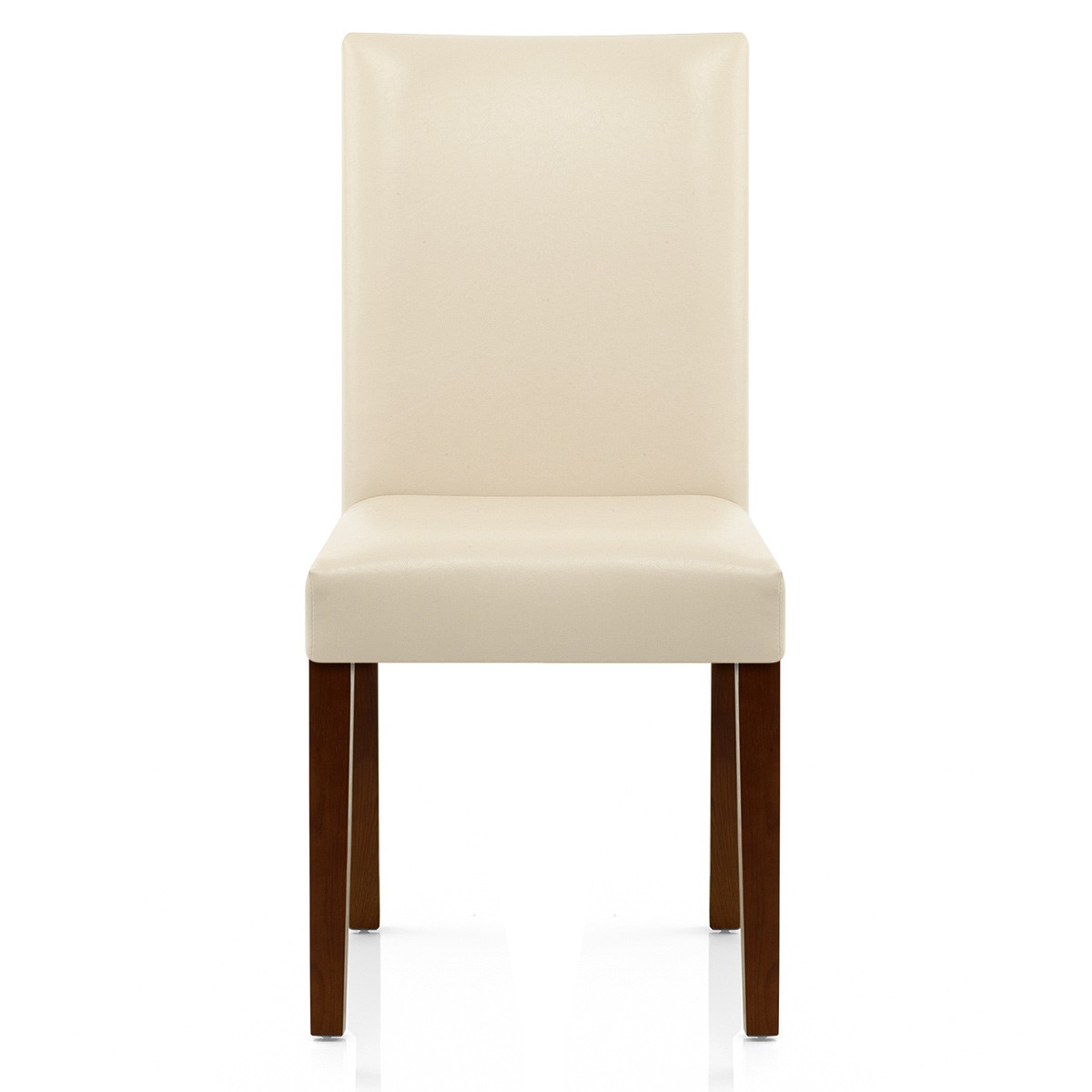 Dining Room Chairs Chicago: Chicago Walnut Dining Chair Cream
