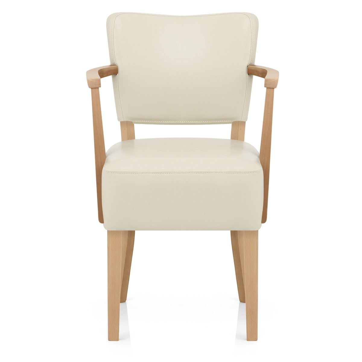 Oak Chairs With Arms ~ Ramsay oak chair with arms cream amr furniture